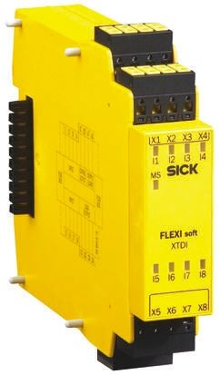 Flexi Soft Input Module, 8 Inputs, 24 V dc product photo