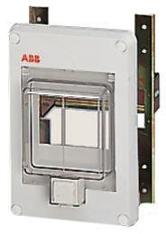 ABB 12658 Blank Panel for use with Polycarbonate Enclosures