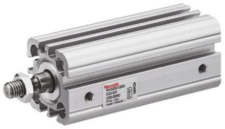 Aventics Pneumatic Compact Cylinder 80mm Bore, 100mm Stroke, CCI Series,  Double Acting