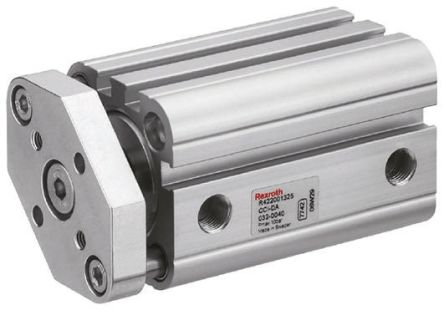 Pneumatic Compact Cylinder 100mm Bore, 100mm Stroke, CCI Series, Double Acting product photo
