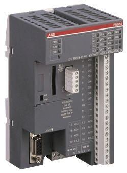 ABB AC 500 PLC CPU Computer, HMI Interface, 128 kB Program Capacity, 8  (Digital) Inputs, 6 (Digital) Outputs, 24 V dc