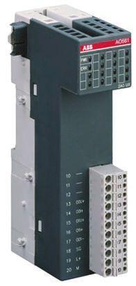 ABB AC 500 Series PLC I/O Module 2 Outputs 24 V dc, 74 x 34 x 135 mm | ABB  | RS Components India