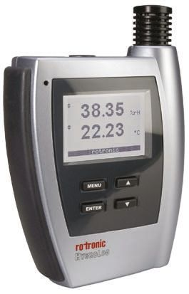 Rotronic Instruments HL-NT2-DP Humidity, Temperature Data Logger, Ethernet,  RS232, RS485, USB, Wireless, Battery
