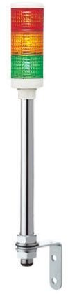 Schneider Electric Harmony LED Beacon Tower, 3 Light Elements, Red/Green/Orange, 24 V ac/dc