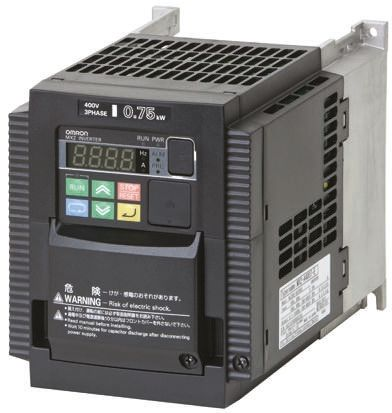 Omron Inverter Drive, 3-Phase In, 0.1 → 1000Hz Out 15 kW, 400 V, on