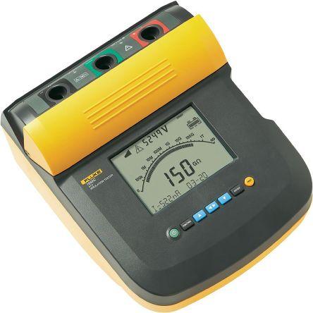 Fluke 1550C, Insulation Tester 1TΩ CAT III 1000 V, CAT IV 600 V UKAS Calibration