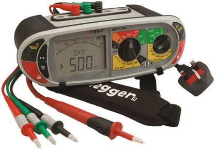Mft1720 Megger Mft1720 Electrical Tester Rs Components