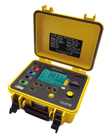 CA 6470N Earth & Ground Resistance Tester 99.99kO CAT IV 50 V product photo