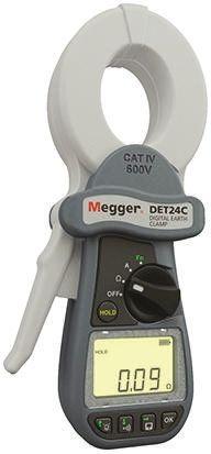 DET24C Earth & Ground Resistance Tester 1.5kO CAT IV 600 V RS Calibration product photo