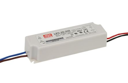 Mean Well LPC-20-700, Constant Current LED Driver 21W 9 → 30V 700mA