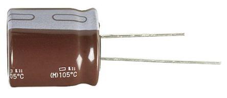 Panasonic Aluminium Electrolytic Capacitor 180μF 35V dc 8mm Through Hole FR Radial Series +105°C