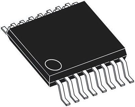 AD5064BRUZ, 4-Channel 16 bit Serial DAC, 125ksps, 16-Pin TSSOP product photo