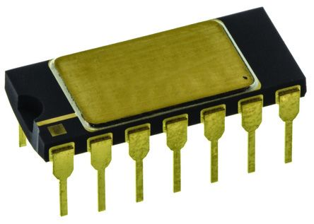 Analog Devices AD534JDZ 4-quadrant Voltage Divider and Multiplier, 1 MHz, 14-Pin TO-116