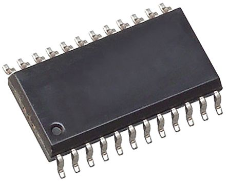 AD8403ARZ1, Digital Potentiometer 1kΩ 256-Position Linear 4-Channel Serial-3 Wire, Serial-SPI 24-Pin SOIC W