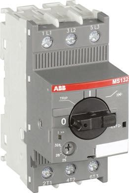 ABB 5.5 kW Manual 3P Motor Protection Circuit Breaker, 690 V ac, 1, 3 Phase, IP20