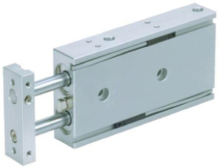 SMC Pneumatic Guided Cylinder 10mm Bore, 40mm Stroke, CXS Series