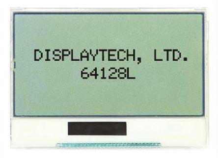 1 x grafica transflettivo LCD monocromatico display LED retroilluminato 128 x 64pixels