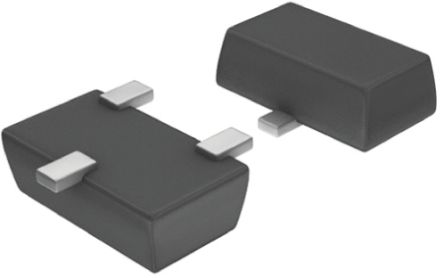 ON Semiconductor SVC704-TL-E Varactor, 3.4pF min, 6:1 Tuning Ratio, 16V, 3-Pin MCPH