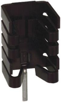 Heatsink, TO-220, TO-262, 27.3°C/W, 12.7 x 14.48 x 19.05mm, Solder