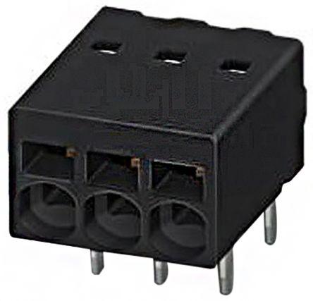 Phoenix Contact COMBICON PTSM, 8 Way 2.5mm Pitch PCB Terminal Strip