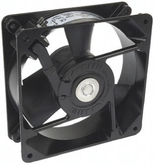 DC Axial Fan, 119.13 x 119.13 x 39.12mm, 187m³/h, 5.8W, 48 V dc (Muffin Series)