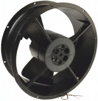 DC Axial Fan, 254 x 88.9mm, 935m³/h, 29W, 24 V dc (Caravel Series)