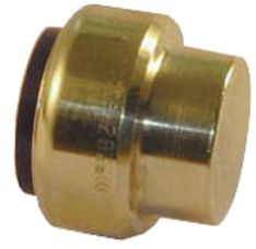 Brass Push Fit Fitting 22mm product photo