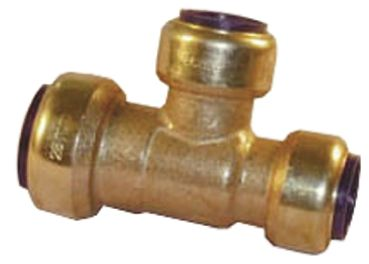 Brass Push Fit Fitting 22 x 15mm product photo