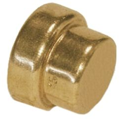 Push fit copper1 15mm Stop End fitting