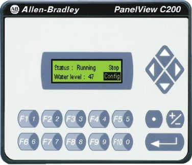 Allen Bradley Backlit LCD HMI Panel, 18 → 30 V dc Supply, 116 x 80 x 54 mm