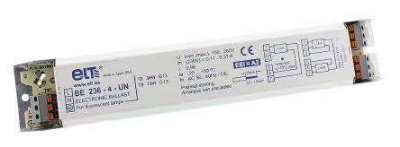 36 W Electronic Fluorescent Lighting Ballast, 110 → 260 V