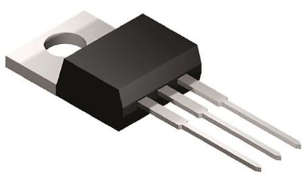 BTB08-600BWRG STMicroelectronics, TRIAC, 600V 8A, Gate Trigger 1.3V 50mA, 3-Pin TO-220AB