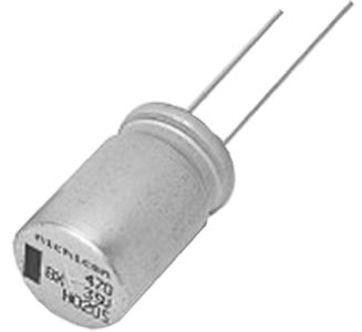 Nichicon Aluminium Electrolytic Capacitor 1000μF 10V dc 12.5mm BX Series, Through Hole Electrolytic, ±20%