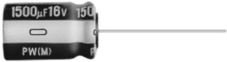 Condensador Electrolítico De Aluminio Nichicon UPW2A680MPD, 68μF, ±20%, 100V Dc, Montaje En Orificio (5)