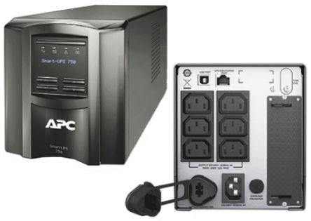 APC Smart-UPS SMT 750VA UPS Uninterruptible Power Supply, 230V Output, 500W