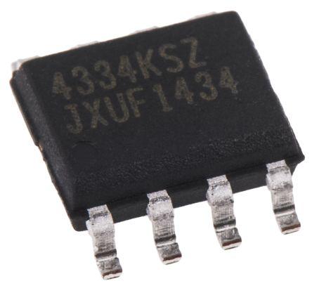 CS4334-KSZ, Audio Converter DAC Dual 24 bit-, 96ksps ±5%FSR Serial, 8-Pin SOIC