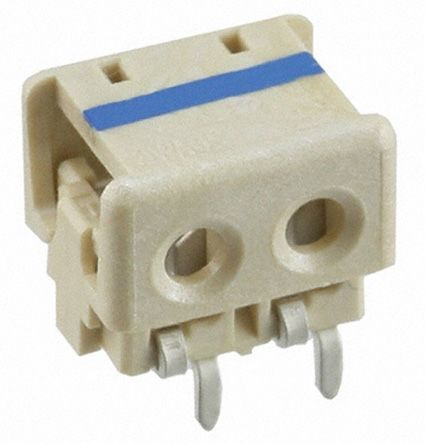 TE Connectivity 2-Way IDC Connector Socket for  Through Hole Mount, 1-Row