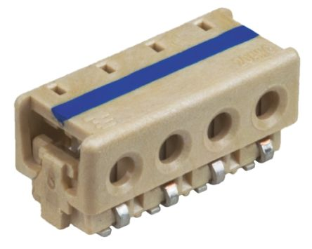 TE Connectivity 3-Way IDC Connector Socket for Surface Mount, 1-Row
