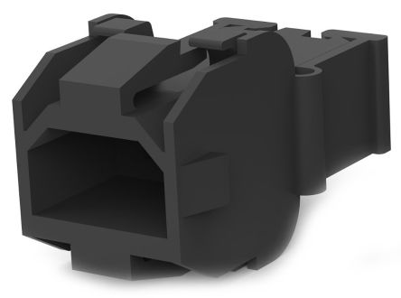 TE Connectivity FASTIN-FASTON 110 Male Connector Housing, 5mm Pitch, 2 Way, 1 Row