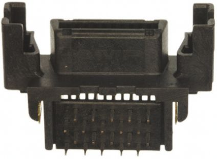 Female 20 Pin Right Angle Through Hole SCSI Connector 2.54mm Pitch, Solder product photo