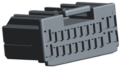 54200206 | Delphi Apex Series Female 2 Way Connector Housing for use