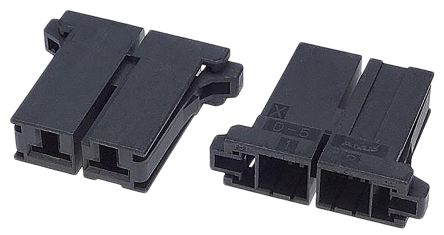 1-179958-2 - Female Connector Housing - Dynamic 5000, 10.16mm Pitch, 2 Way, 1 Row product photo