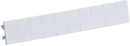 Relay Label Blank ID Marker Strip for use with CNL Series, 10 pieces