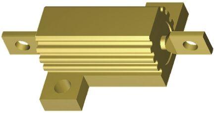 Arcol HS25 Draht-Lastwiderstand 100Ω ±5/% Alu Gehäuse axial 25W