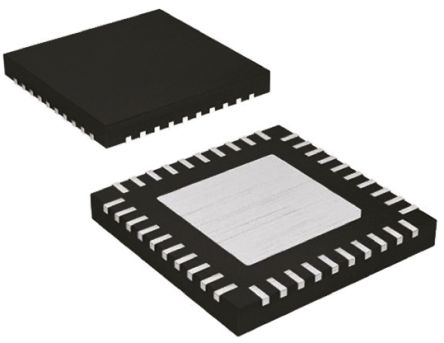 Maxim Integrated Quad-Channel, TQFN UART RS485 24MBd, 2.35  3.6 V, 48-Pin MAX14830ETM+