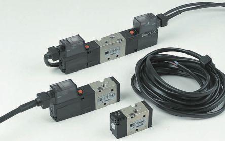SMC 5/2 Pneumatic Control Valve Solenoid/Pilot G 1/8 VZ5000 Series