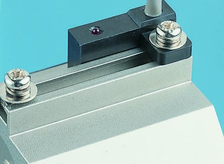 D-F7 Series Solid State Switch, 3m Fly Lead, Rail Mounted product photo