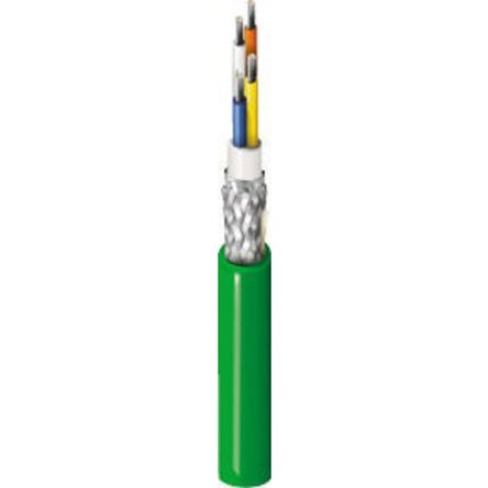 Belden Green PUR Cat5e Cable SF/UTP, 305m Unterminated