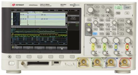 Keysight Technologies InfiniiVision 3000 X Series DSOX3054A Digital Oscilloscope, Bench, 4 Channels