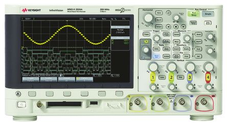Keysight Technologies InfiniiVision 2000 X Series DSOX2022A Digital Oscilloscope, Bench, 2 Channels, 200MHz